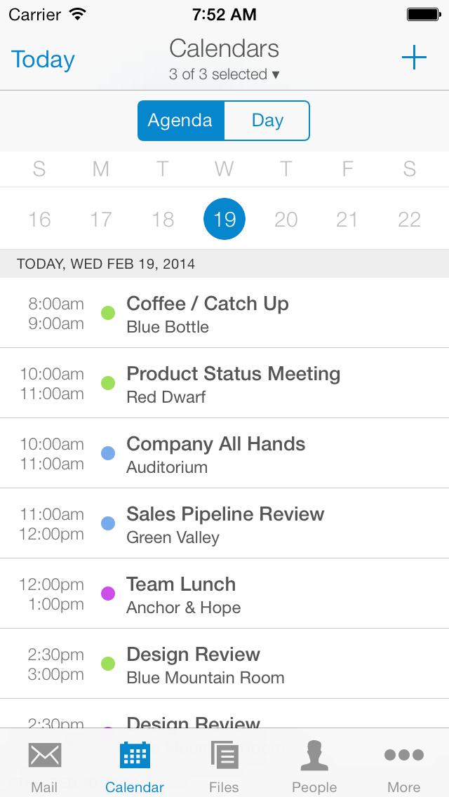 Acompli_Calendar_AgendaView