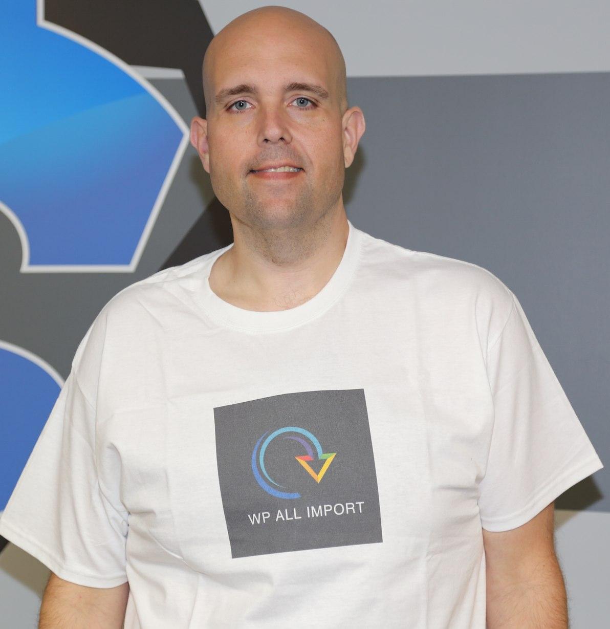 Free Shirt Friday- WP ALL IMPORT @WPALLIMPORT - ShoeMoney